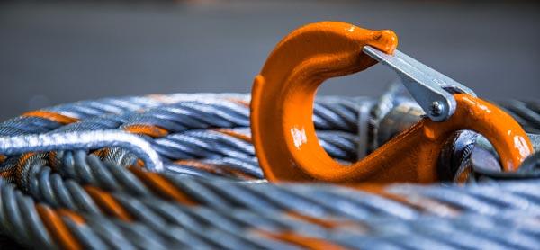 Câble pour tirfor avec crochet